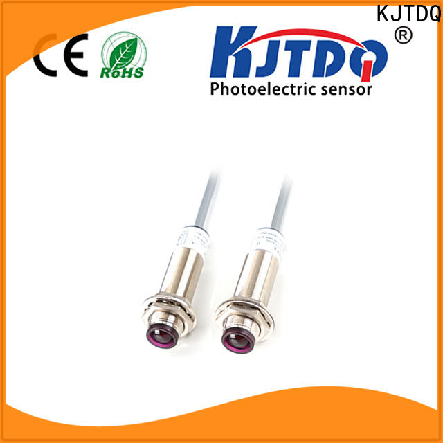 KJTDQ photo sensor types manufacturers for industrial cleaning environments