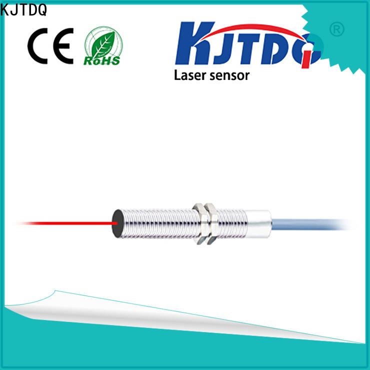 KJTDQ cylindrical laser sensor company for industrial cleaning environment