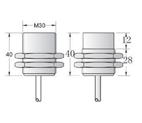 M30 Namur proximity sensor