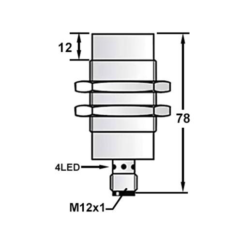 quality long range inductive proximity sensor factory for plastics machinery-1