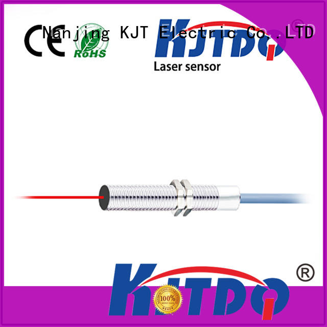 KJTDQ non-contact distance measurement laser switch sensor suppliers for industry
