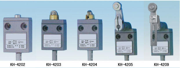 waterproof limit switch sensor & sensor cable connection