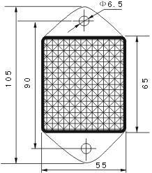 great practicality reflector for sensor oem&odm-3