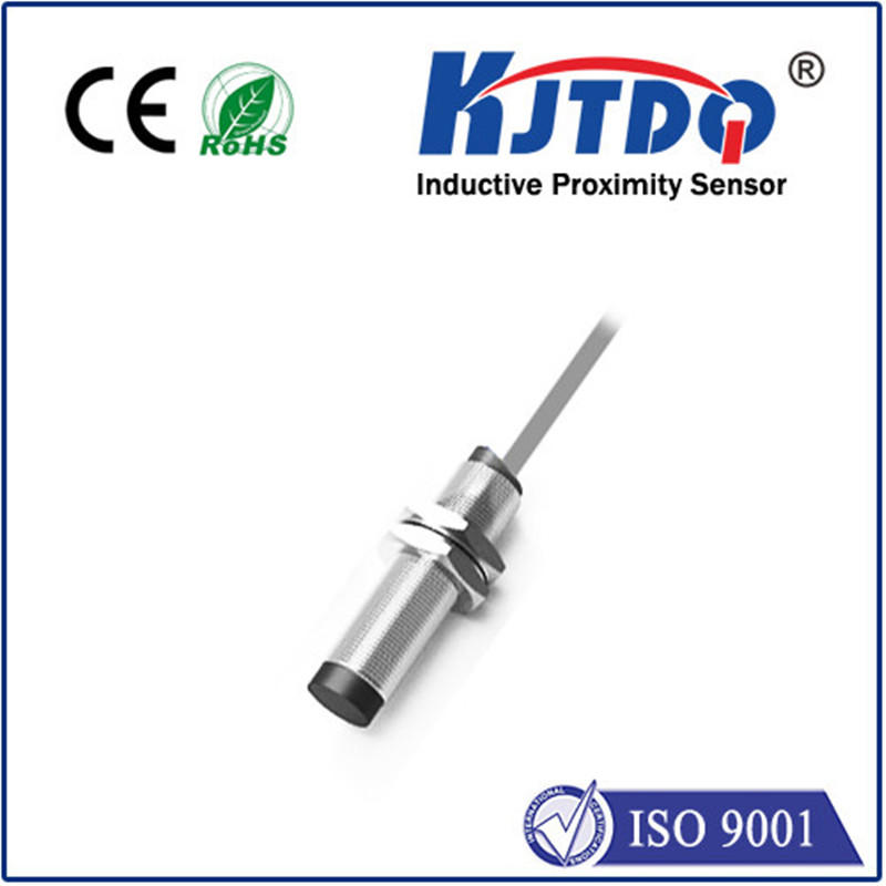 M12 inductive proximity sensor unshielded NO NC housing with Brass nickel plated