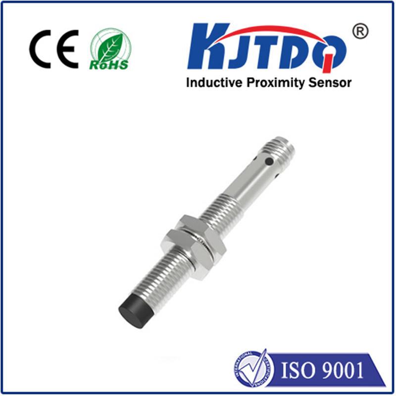 M8 inductive proximity sensor unshielded DC PNP NPN NO NC connector