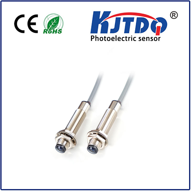 M12 photoelectric sensor through beam PNP NPN NO NC NO+NC Sn=5m