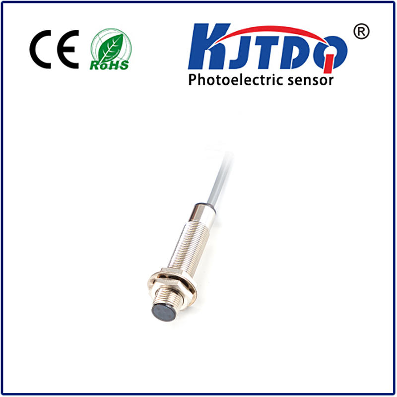 M12 photoelectric sensor diffuse PNP NPN NO NC NO+NC Sn=0.1/0.2/0.3m adjustable