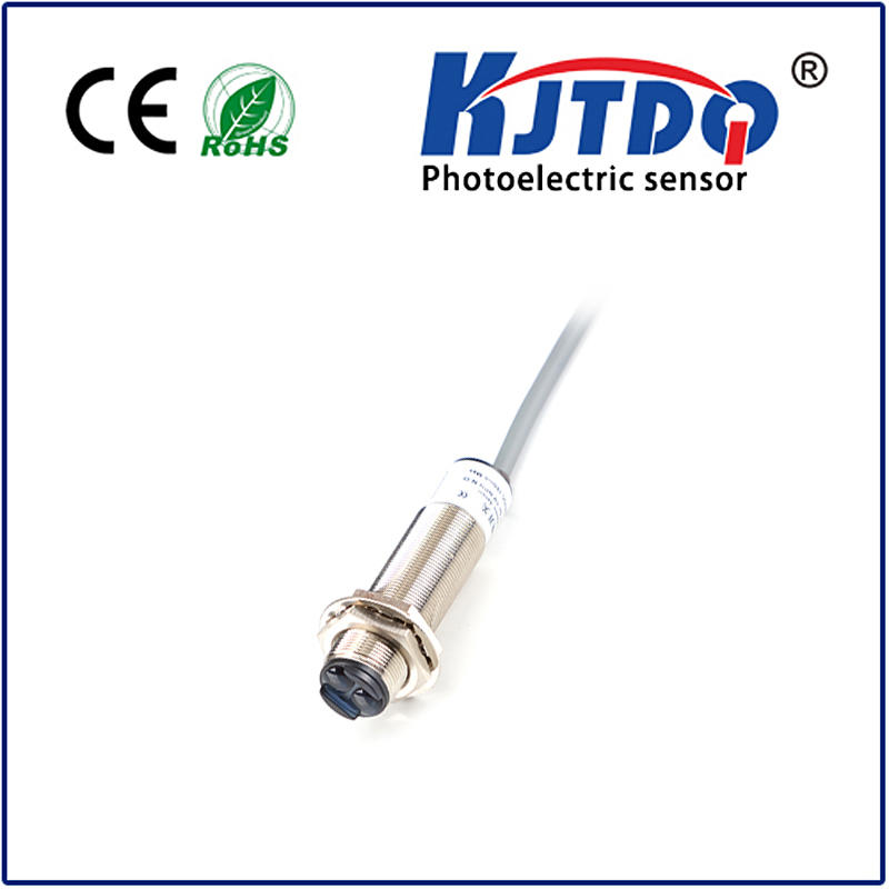 M18 photoelectric sensor diffuse adjustable PNP NPN NO NC NO+NC Sn=0.7/1m