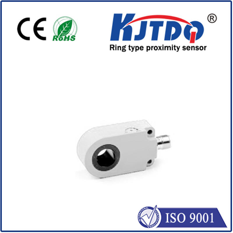 Ring shape  inductive proximity sensor ABS NPN PNP NO NC Sn=0-12mm IP67 connector m8