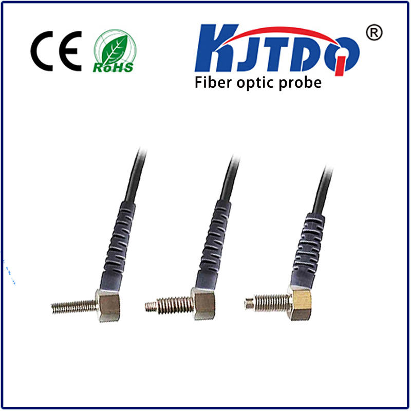M4 optical fiber sensor diffuse PNP/NPN Sn=0-60mm stainless steel