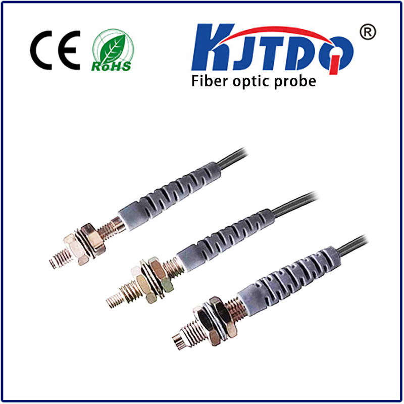 M4 fiber optic sensor diffuse PNP/NPN Sn=0-80mm