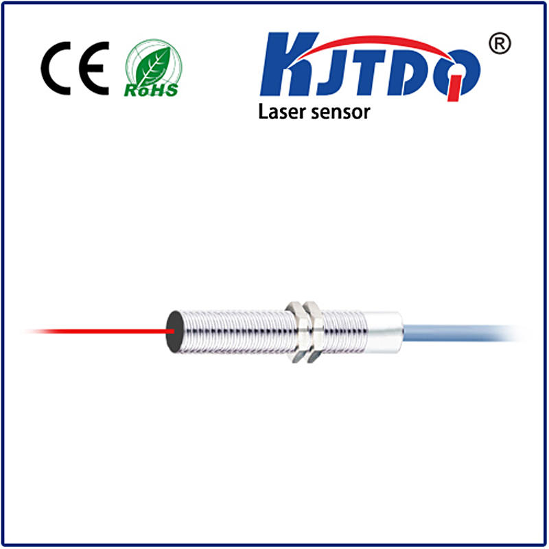 M8 Laser photoelectric sensor diffuse type