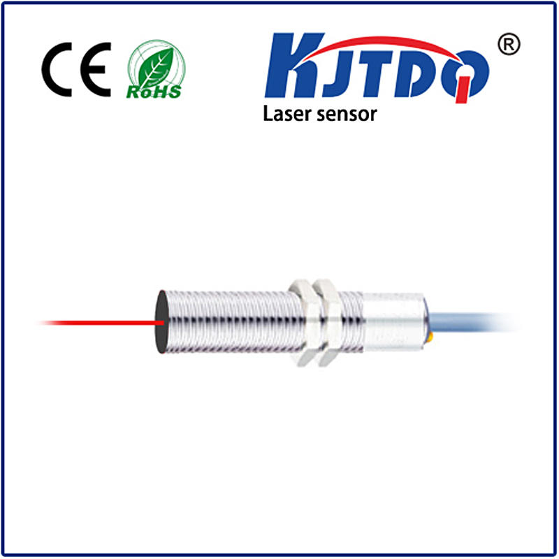 M12 Laser photoelectric sensor diffuse type