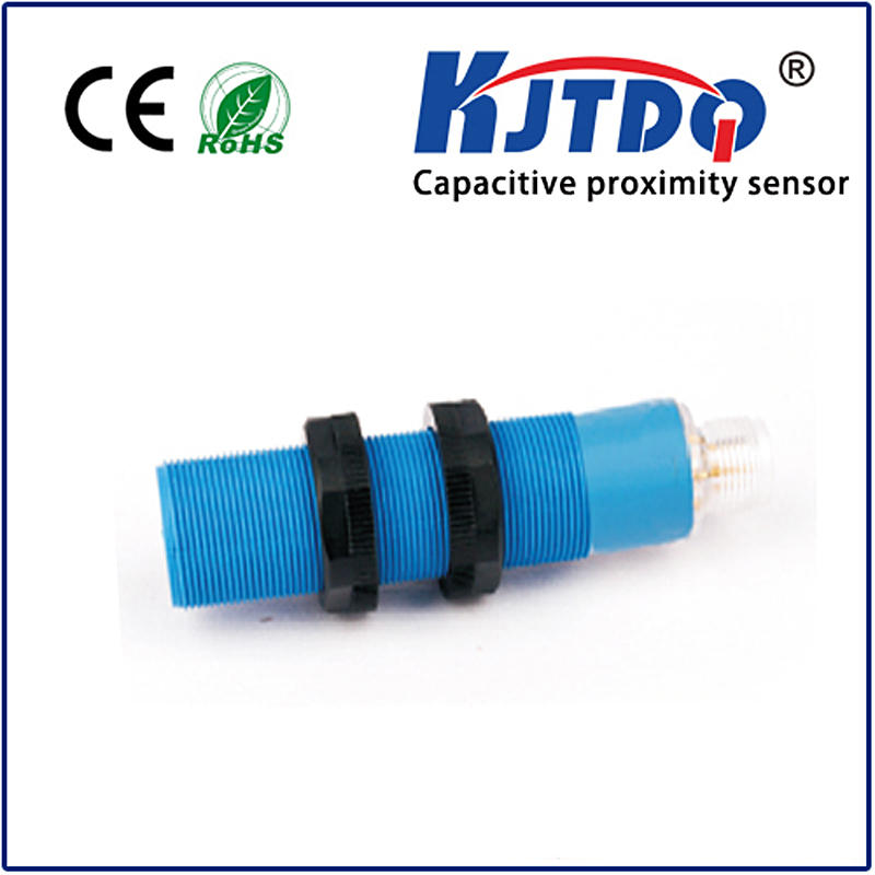 M18 capacitive proximity sensor shielded IP67 Sn=1-8mm adjustable