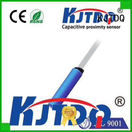 KJTDQ capacitive type proximity sensor manufacturer for detect non-metallic objects