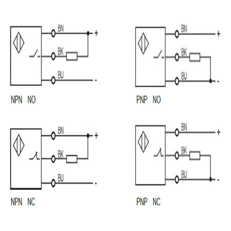 capacitive proximity sensor switch custom housing size for machine KJTDQ-2