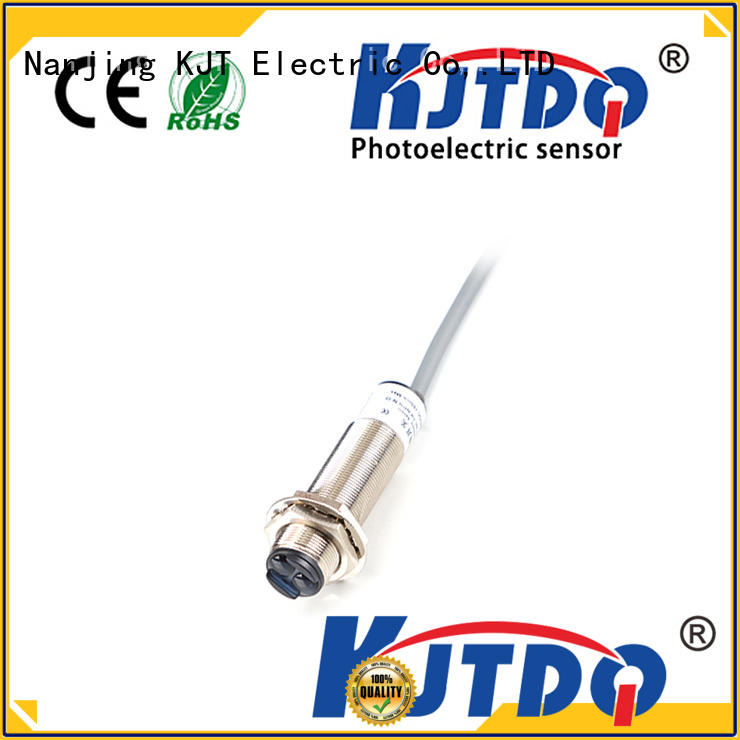 KJTDQ photoelectric sensor types china for industrial cleaning environments