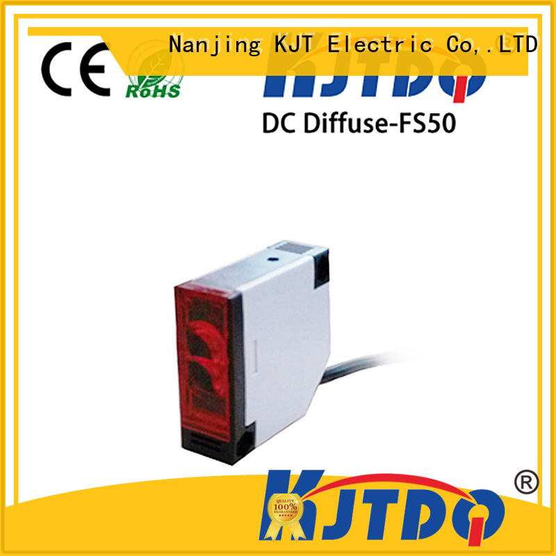 KJTDQ photoelectric sensor types manufacturer for industrial cleaning environments