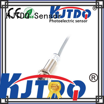 KJTDQ industrial cylindrical photoelectric sensors for packaging machinery