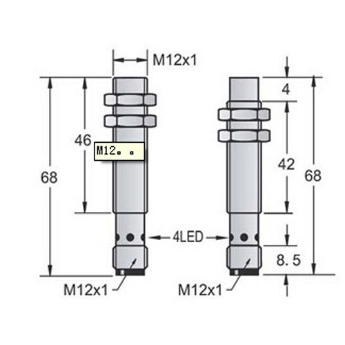 industrial proximity sensor manufacturer china for packaging machinery-3