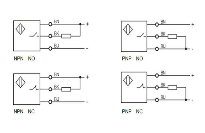 Proximity Sensor Inductive Type,Standard Inductive