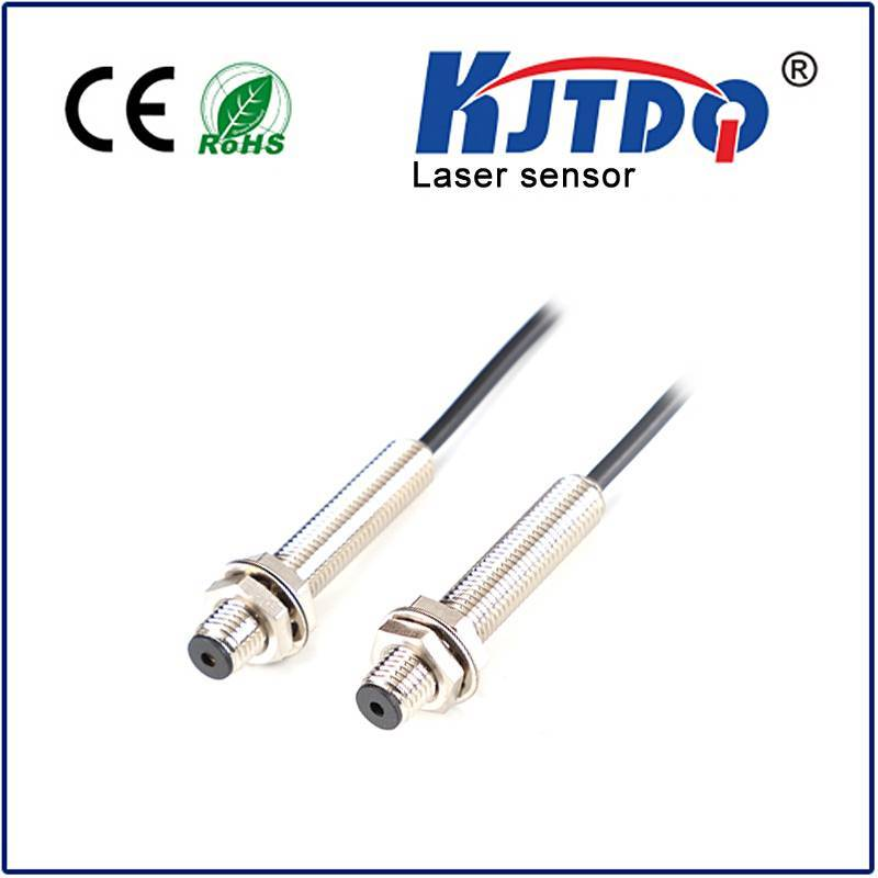 M8 Laser photoelectric sensor through beam type