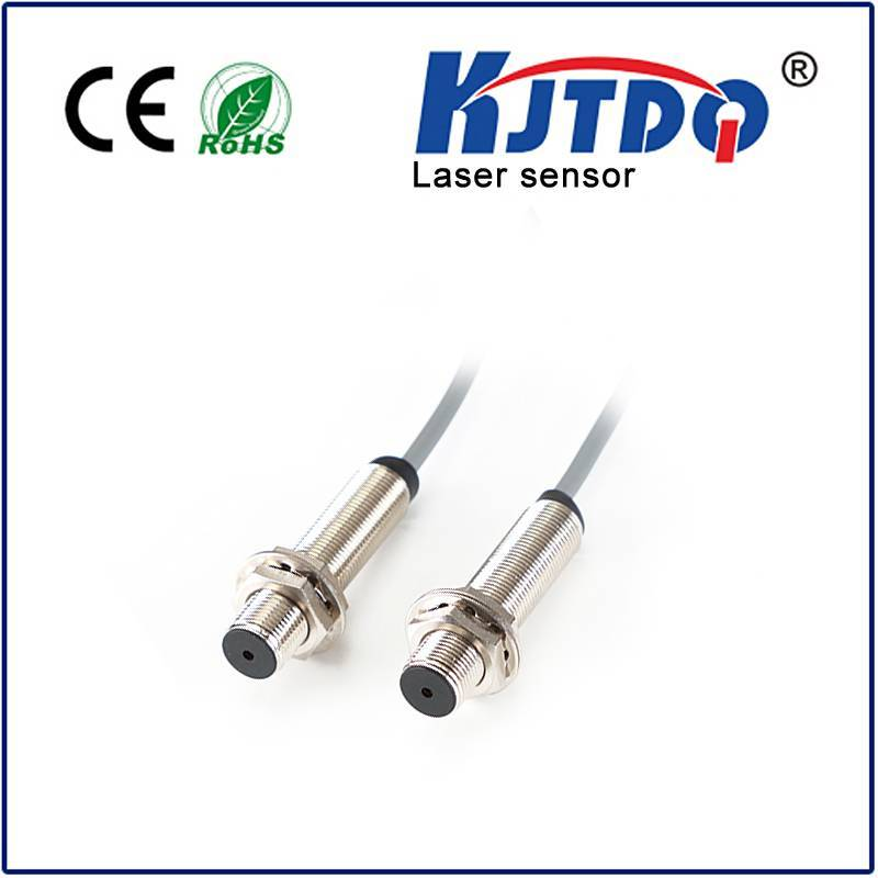M12 Laser photoelectric sensor through beam type