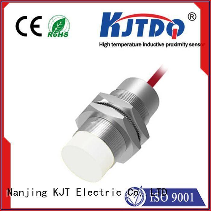 KJTDQ high temperature 120v proximity sensor company for plastics machinery